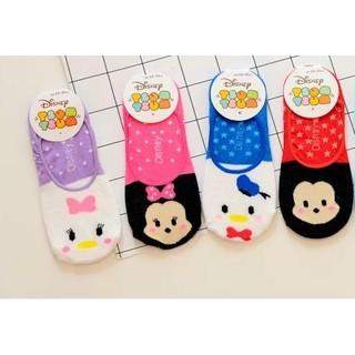 日本 迪士尼 Tsum Tsum 唐老鴨 黛西 米奇 米妮 隱形襪 船型襪  女襪