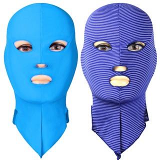 【批發價現貨】游泳專用頭套 防水母套頭 防曬面罩 防紫外線 游泳帽 多色可選