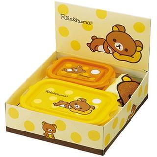日本購回 Rirakuma 拉拉熊保鮮盒組