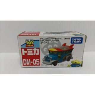 Tomica迪士尼DM-05(盒損)