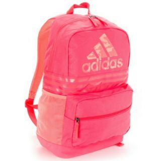 全新Adidas  專櫃正品 大容量後背包AJ4246甜美粉