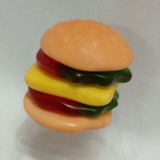 脆皮大漢堡軟糖 32g/包 慧鴻 漢堡 QQ軟糖 軟糖 印尼 進口 便宜 好玩 好吃