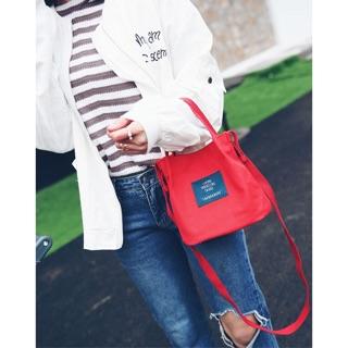 【現貨+預購 超多顏色】日系可愛素色手提肩背兩用帆布包 共七色