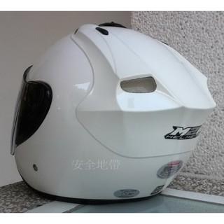 台中 安全地帶 M2R安全帽 3/4 M2R-318 素色 付帽套