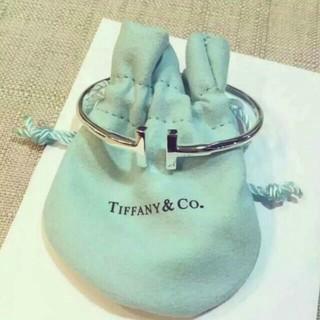 Tiffany純銀T型手環
