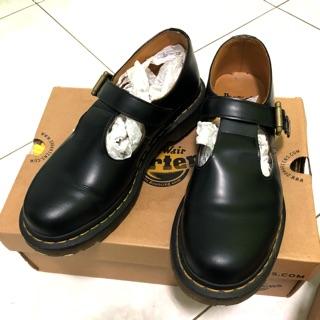 二手 Dr-Martens 單扣瑪莉珍鞋*黑色
