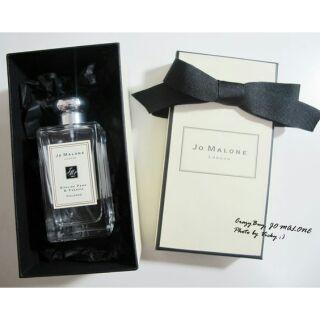 香香氣息Jo Malone 香水100ml 英國梨紅玫瑰含羞草藍風鈴海鹽橙花杏桃可可黑莓牡