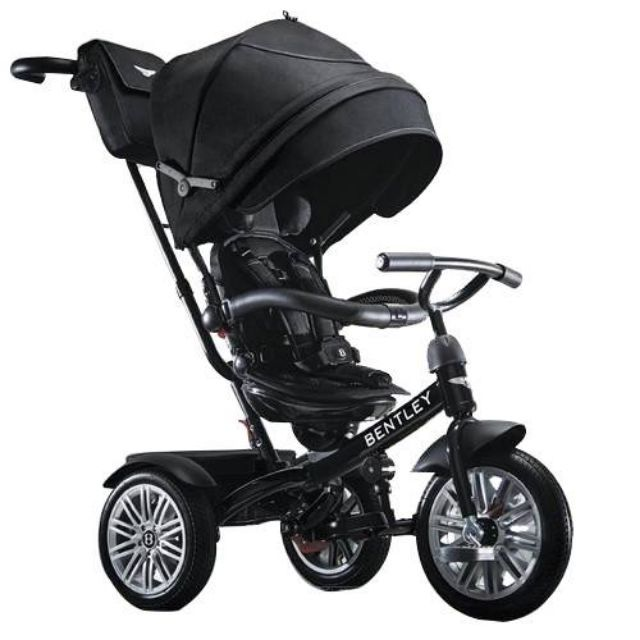 【Bentley 賓利】賓利三輪嬰幼兒手推車