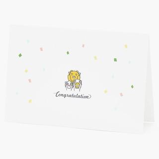 韓國五月連線KAKAO 卡片 生日卡片 慶祝畢業卡片 告白卡片