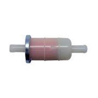 原廠規格雙通濾油器 濾油管 過濾器 汽油濾清器 雙邊8mm (5/16吋) 直式 耐油高品質 摩托車重型機車等油管可適用