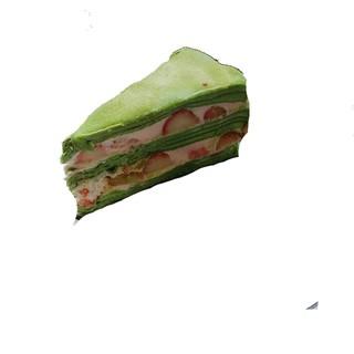 隱藏在巷弄裡的手工甜點 - 彌月蛋糕 - 抹茶草莓千層