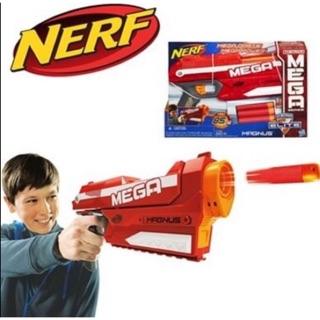 濛家NERF 巨彈系列馬格納斯手槍 (mega elite 菁英 彈夾 彈匣 吸盤 水彈槍 子彈左輪)