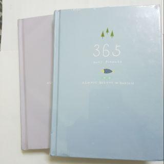 365天日程本 記事本 年月日計劃本 創意手帳本 手帳筆記本文具