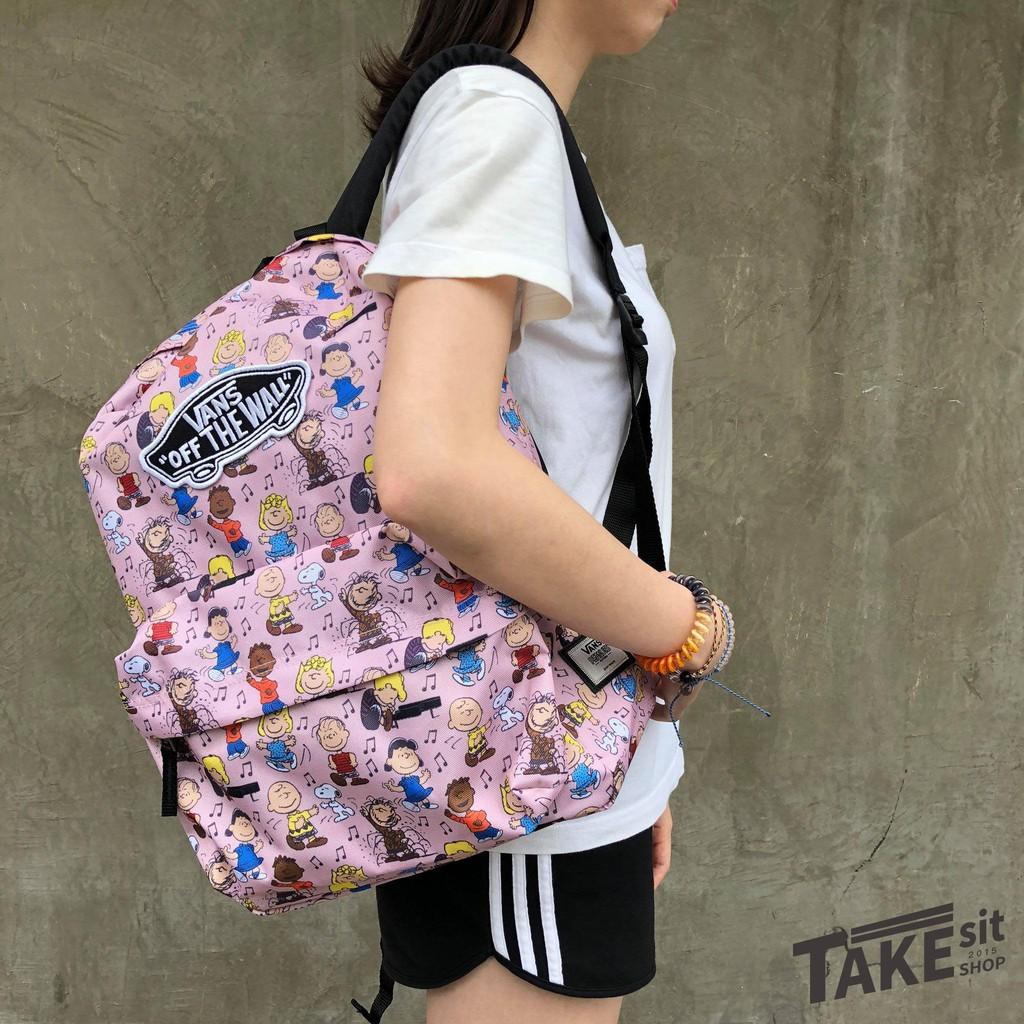 《Takesitshop》Vans 史努比 後背包