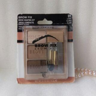 ✈[現貨不必等]MILANI BROW FIX BROW KIT 美娜妮 眉粉盤(附刷具、眉夾)