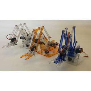 ►336◄藍色透明 新款meArm 機械臂 機械手臂 升級版 樹莓派 arduino brickpi 機器人