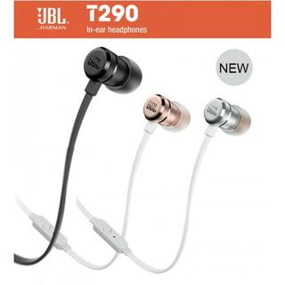 美國JBL 2017最新款 JBL T290線控耳機 手機耳機 立體聲耳機 運動耳機