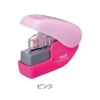 日本現貨商品 粉色 PLUS 無針釘書機