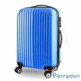 派瑞歐20+24+28吋ABS經典直紋系列行李箱三件1組行李箱大容量收納.外出旅行不費力