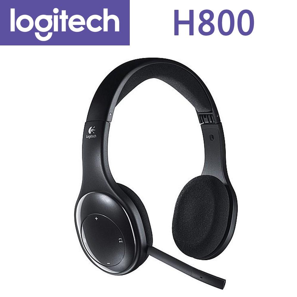 羅技 H800 無線耳機 麥克風 Logitech 超小接收器 藍芽 〔每家比〕
