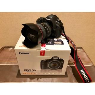Canon 5D2 + Canon EF 24-105mm F4L(快門數4338)+gitzo腳架雲台