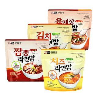 韓國熱銷 Doori Doori 泡麵+泡飯(1袋入) 韓式泡菜/起士/大醬湯/炒碼海鮮