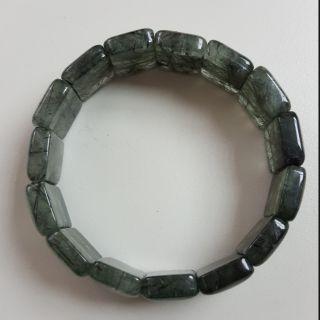 綠髮晶手排