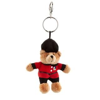 英國HARRODS 百貨 士兵熊吊飾