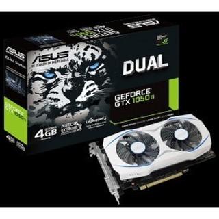 雪原豹~ ASUS華碩 DUAL-GTX1050TI-4G GTX 1050 TI 4G DDR5非GTX950 微星