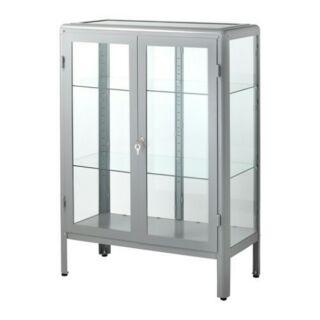 (含運)Ikea FABRIKÖR 玻璃門櫃 展示櫃 櫥窗櫃 台中以北可送