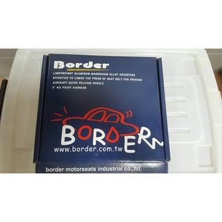 全新BORDER六點式快拆安全帶FIA認證