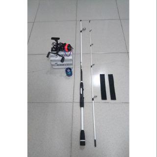 自售小搞搞 釣竿 + 雙卸力3000型捲線器(雙線杯)