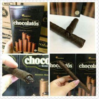 巧克力威化捲