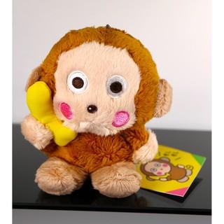 sanrio 淘氣猴 2015年出品 絨毛娃娃 吊飾