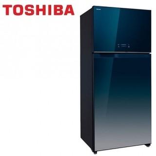 TOSHIBA東芝 608公升變頻玻璃鏡面雙門電冰箱GR-WG66TDZ(GG) 送基本安裝