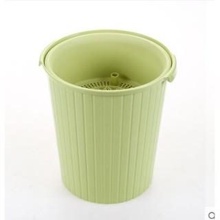 泡茶垃圾桶倒茶葉茶桶廢水桶小號塑膠排水桶茶渣桶家用塑膠加厚