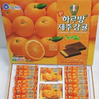 濟州島柑橘巧克力夾心巧克力 韓國代購