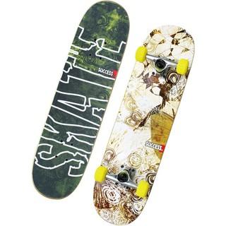 【H.Y SPORT】成功 SUCCESS S0305教學用滑板 (自然綠)