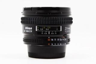 【沃倫3C】Nikon AF 20mm F2.8 D 定焦鏡 廣角 二手鏡頭 %2311072