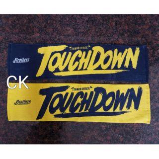 2016中華職棒總冠軍戰 中信兄弟紀念毛巾 應援巾  Touchdown 兄弟象