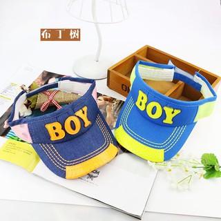 HT-1551 BOY 兒童空頂帽 男女寶寶遮陽帽子夏 兒童帽子