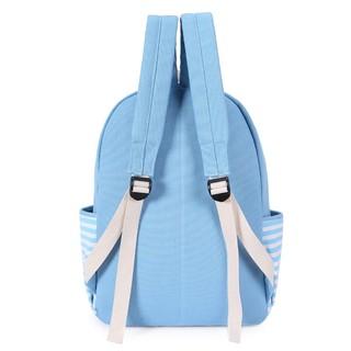 韓國國中生書包日韓版女帆布雙肩包高中學生校園可愛學院風背包潮