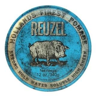 REUZEL 藍豬 豬油 強力定型款 水洗式髮油 12oz 超大容量【*VIP*】