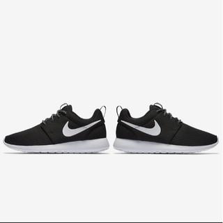 「LANCAIHE」NIKE耐吉 roshe run 倫敦經典黑白跑步鞋 運動鞋 情侶鞋