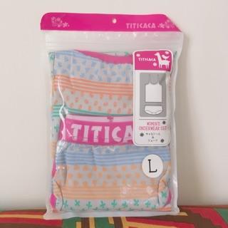 日本帶回 titicaca 背心+內褲 套組 ❤️全新