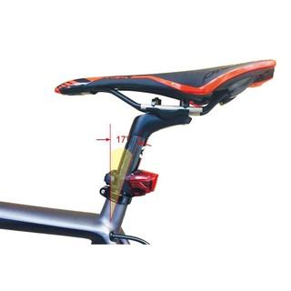 BZ單車benex ET-3209-U1s 野鷹LED警示車燈 尾燈 (充電版) S型扣環 超廣角 4段變化功能