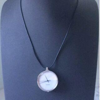 全新真品Georg Jensen Koppel 319 pendant watch(懷錶/鏈錶)