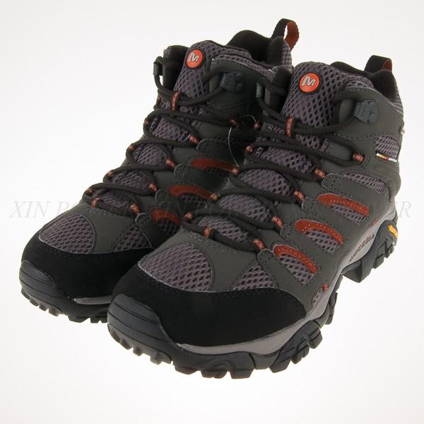 零碼出清~MERRELL~ Moab Mid GORE-TEX 高筒 多功能健走鞋 (ML87313)