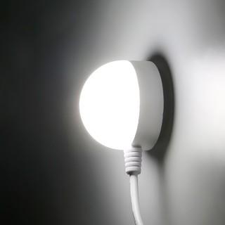 圓形學生燈磁鐵吸附 USB 燈3W 氣氛小夜燈床頭讀書燈高亮節能LED 檯