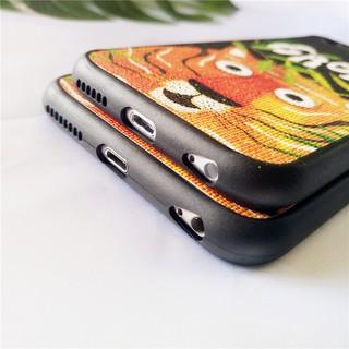手機殼❤叢林老虎 iPhone蘋果6/6s/6Plus/7/7plus包蠶絲防摔保護套手機殼